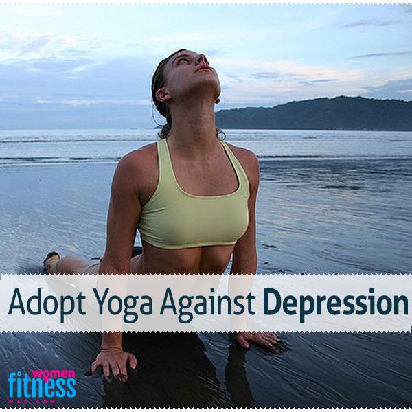 Adopt Yoga Against Depression