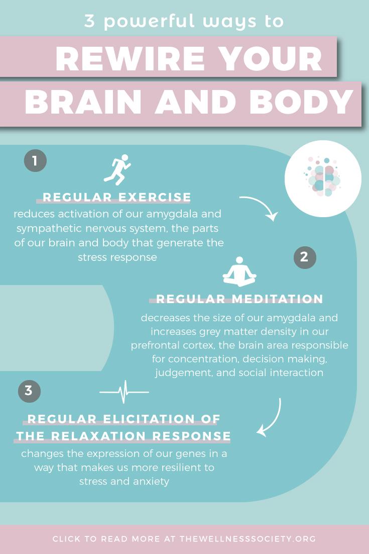 Powerful ways to rewire your brain and body