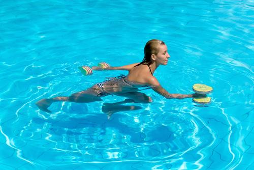 Try Aqua Aerobics
