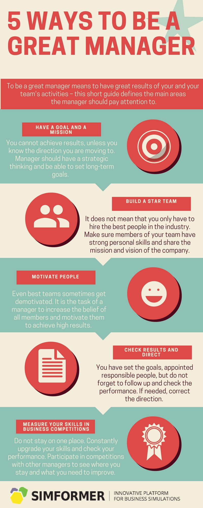 Ways to be a great Manager