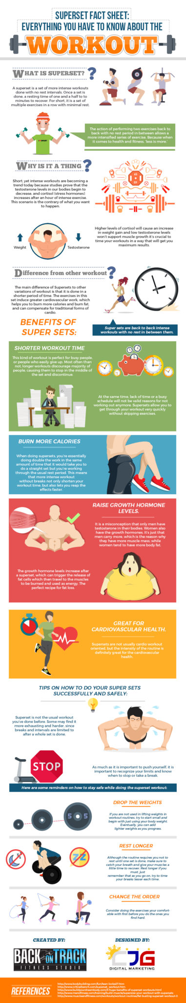 SUPERSET FACT SHEET Everything You Have To Know About The Workout (Infographic)