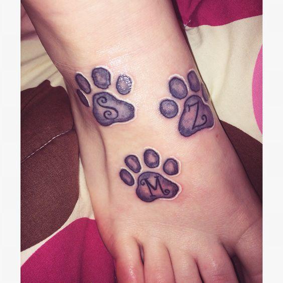 Lion paw design Lion Tattoo