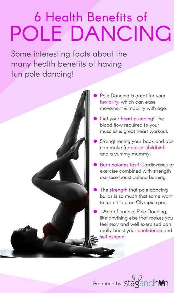pole dancing benefits