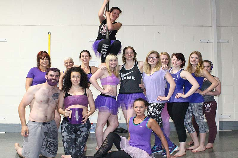 Pole dancing supportive community