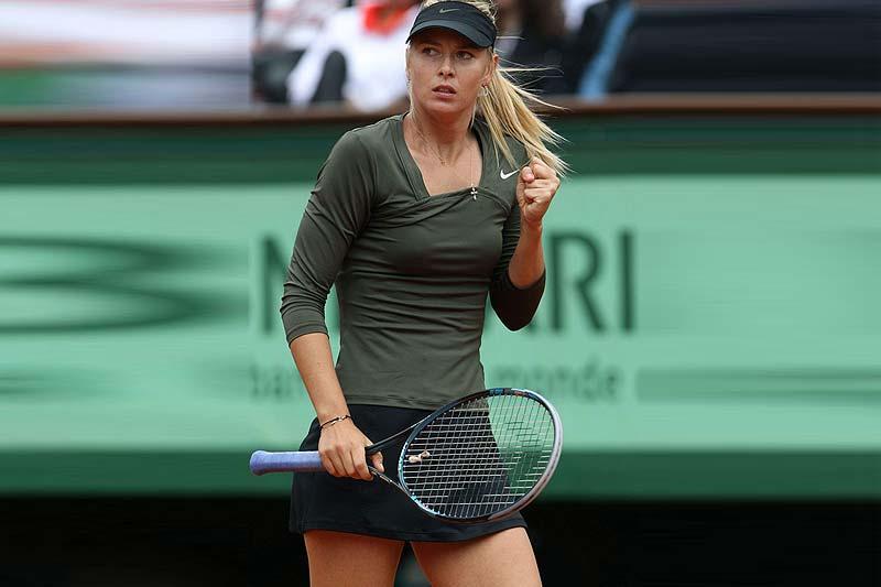 Maria Sharapova. The Most Influential Female Tennis Stars on Social Media