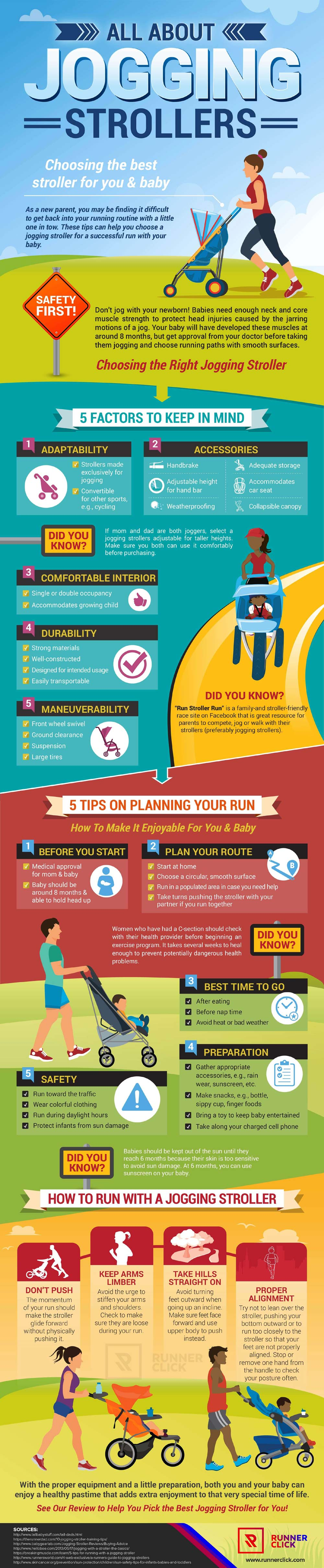 How to Run Safely with a Jogging Stroller