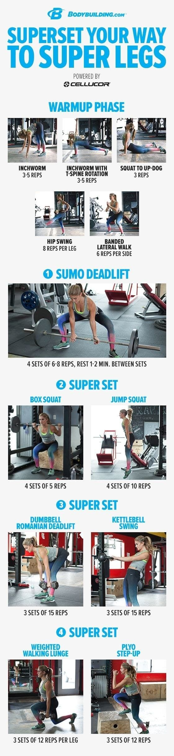 Super Set to way to your Super legs