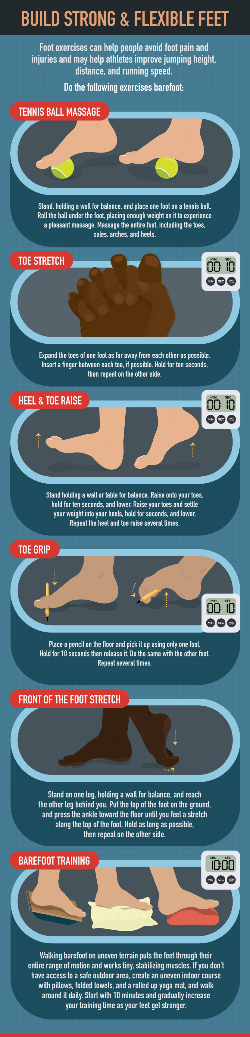 How To Maintain Healthy Feet