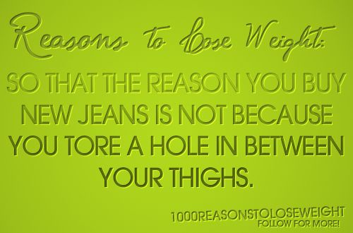 Reasons for Losing Weight