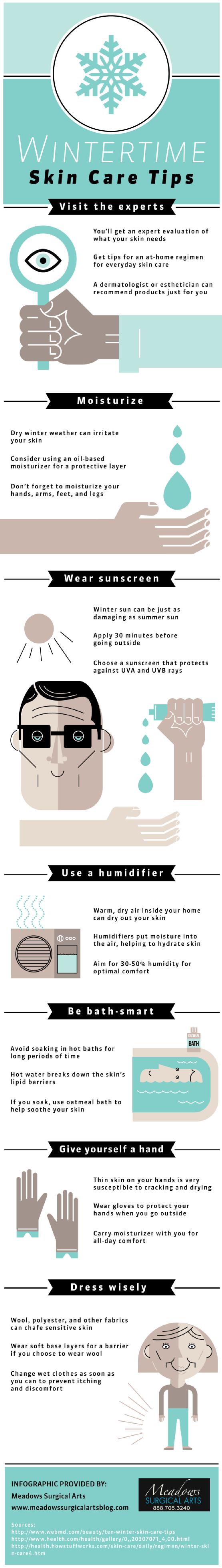 Cold Weather Skin Care Checklist