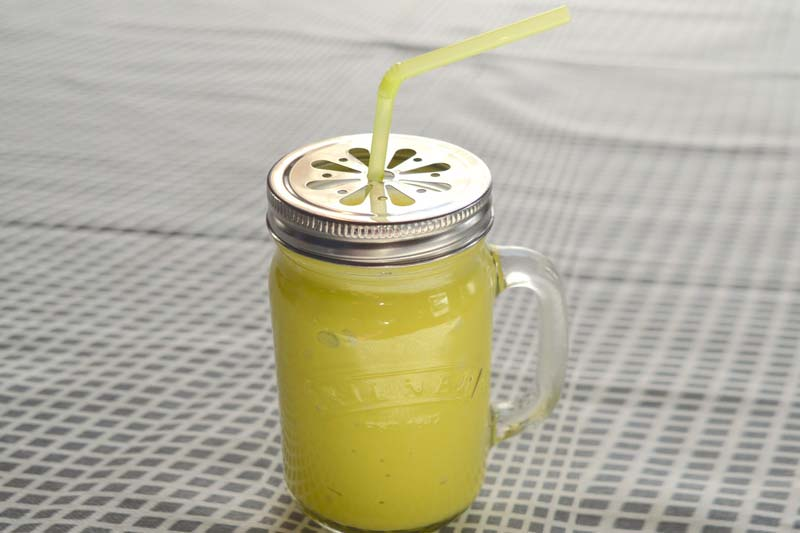 Mango and Ginger Infused Detox Water