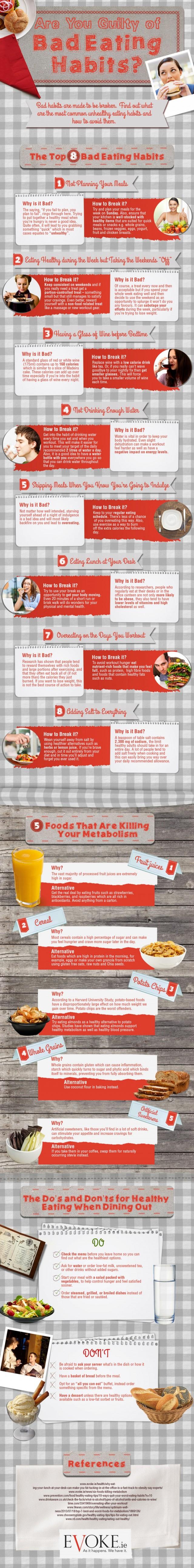 Habits That Make You Unhealthy