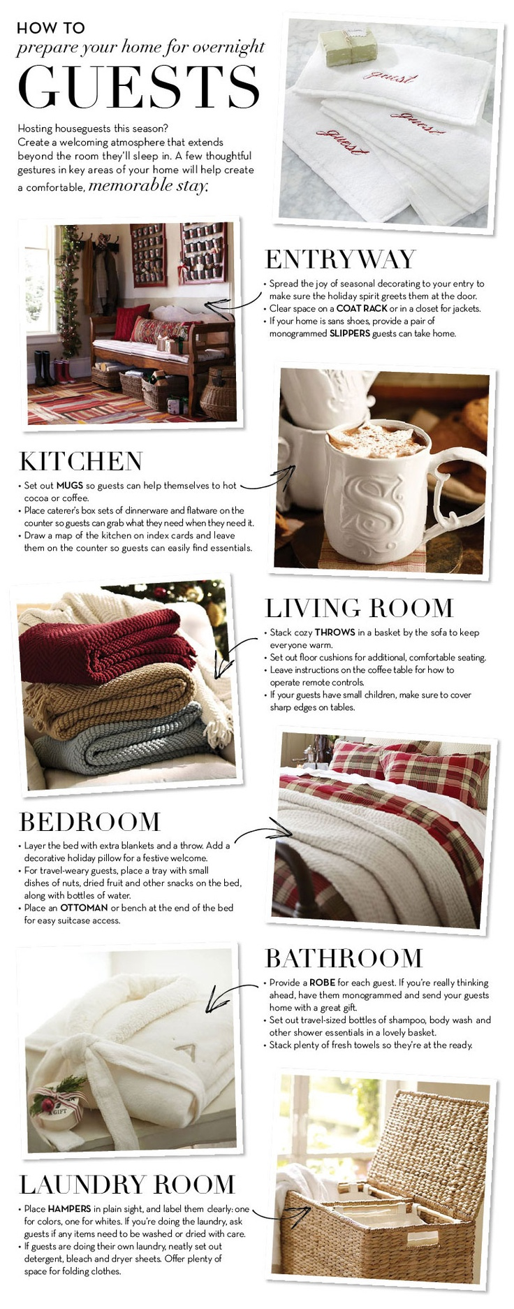 Ways to Make Your House Guests Feel Special