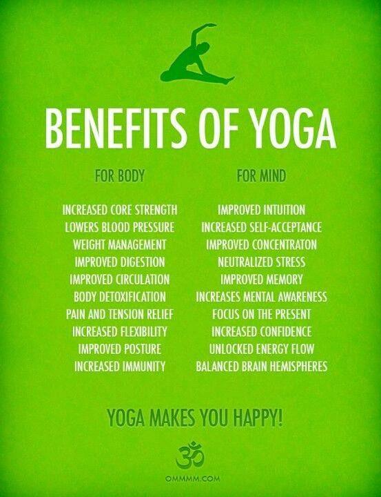 Unexpected Yoga Benefits