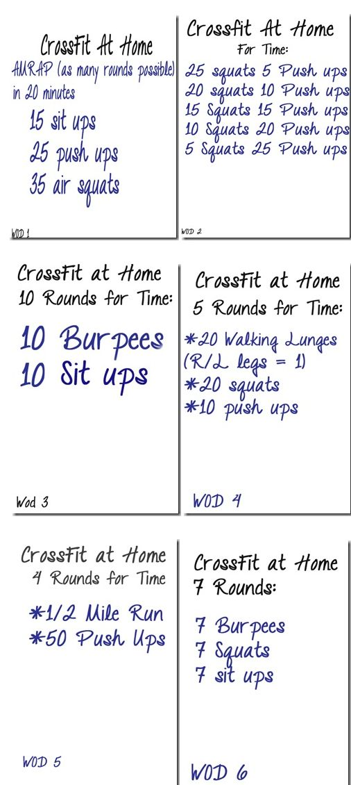 Reasons to do CrossFit