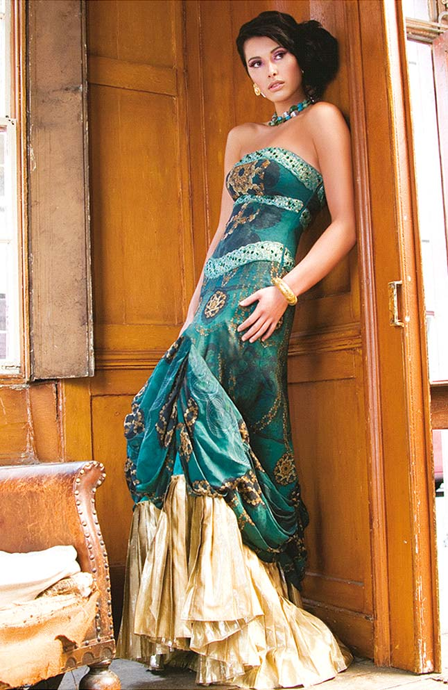 Indian-Inspired Gowns