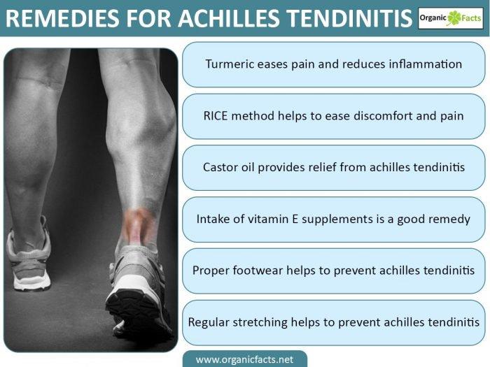 Remedies for Achilles Tendinitis
