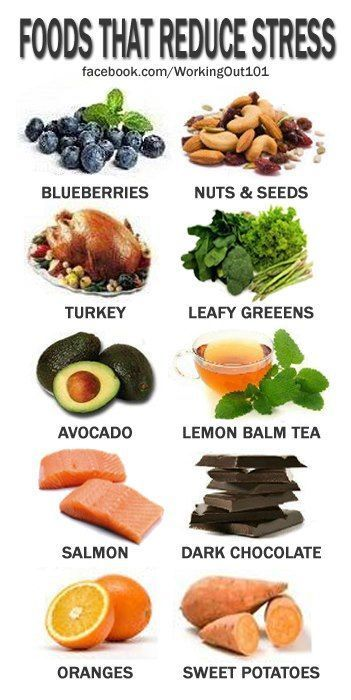 foods that reduce stress