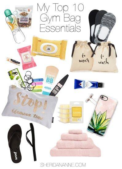 gym bag essentials 1