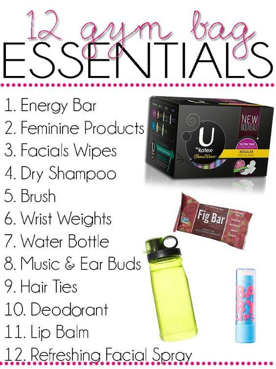 gym bag essentials 3