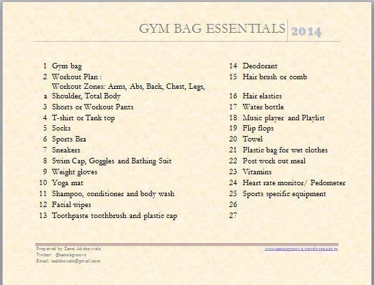 gym bag essentials 5