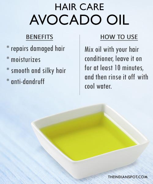 Hair Care hair-oil-avocado