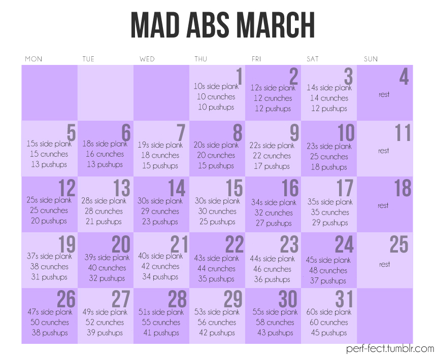 Spring Fitness March