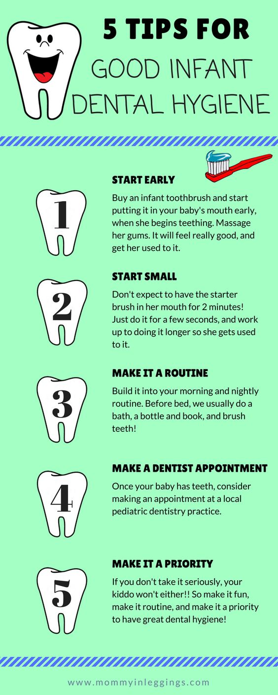 5 tips for good infant dental hygiene