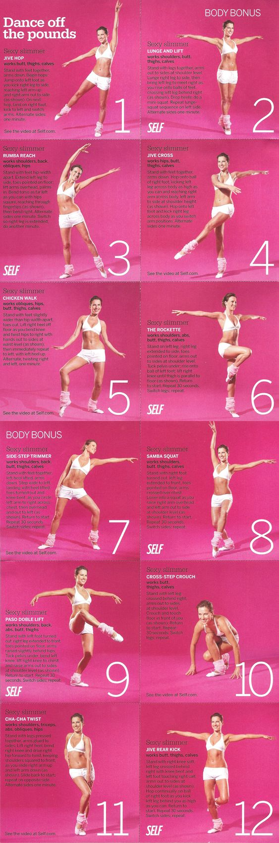 Dance Moves To Add To Your Fitness Routine