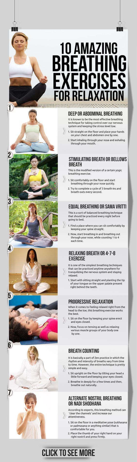 amazing breathing exercises for relaxation