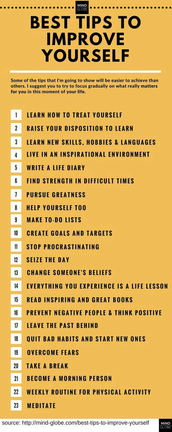 best tips to improve yourself