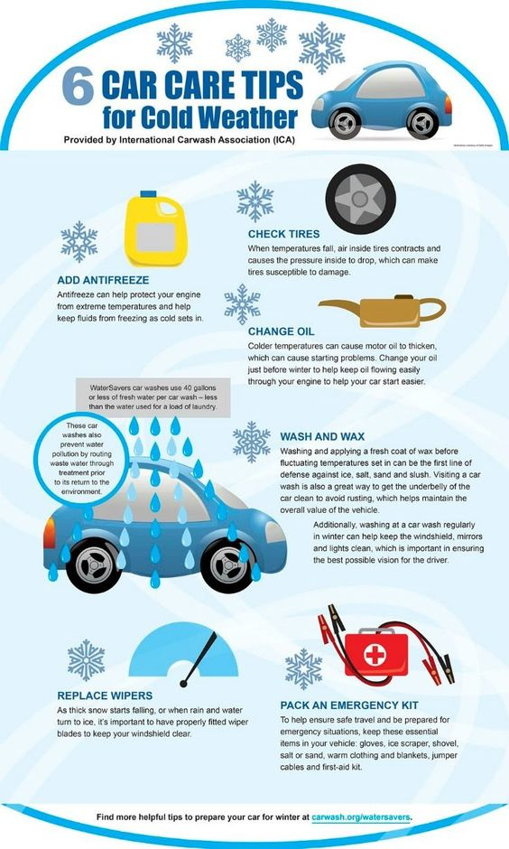 car care tips for cold weather