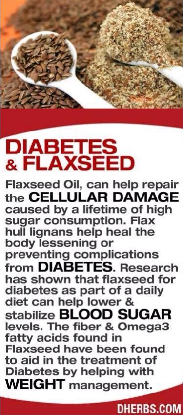 diabetes and flaxseed