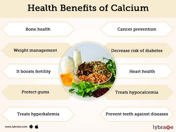 health benefits of calcium