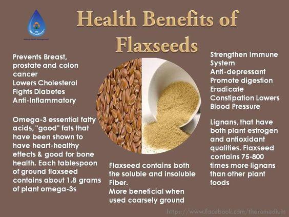 health benefits of flaxseeds 2