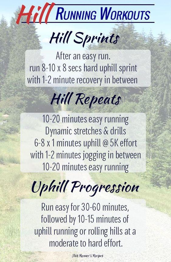 hill running workouts