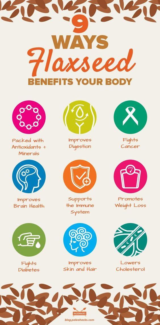 ways flaxseed benefits your body