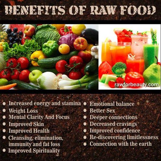 benefits of raw food