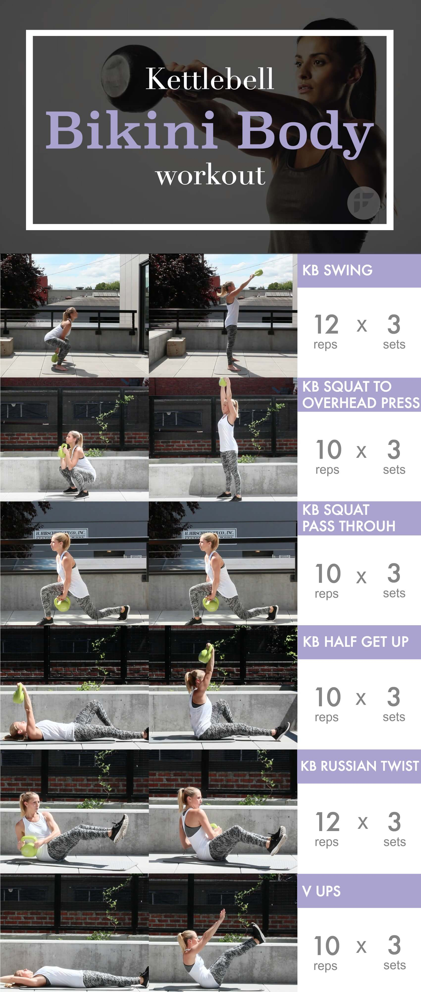kettlebell bikini body workout