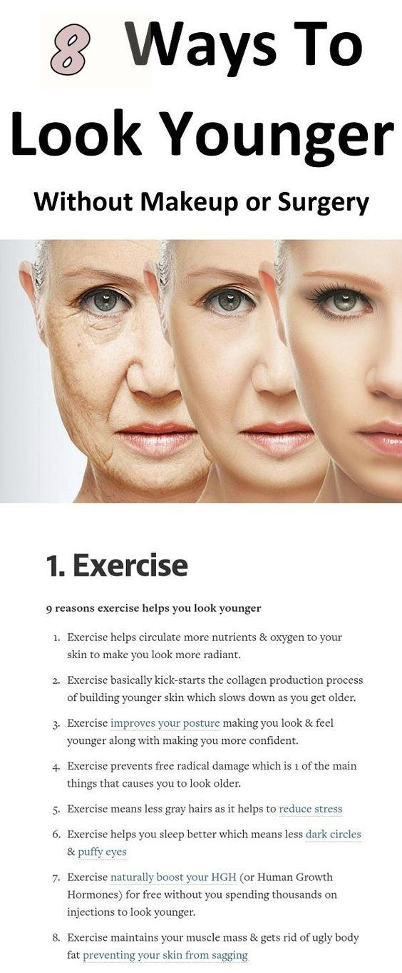 8 ways to look younger