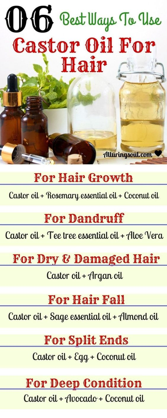 Best ways to use Castor Oil for Hair