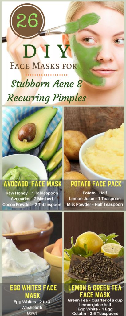 DIY Face mask for stubborn Acne & Recurring Pimples
