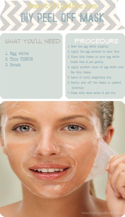 DIY Peel Off Face Masks 2