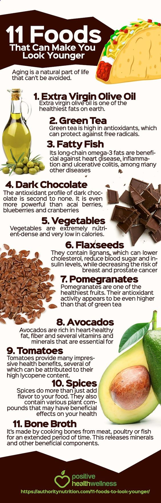 Foods that can make you look younger