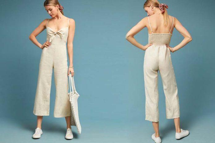 Quintessential Linen Jumpsuits For Women This Summer, linen one piece jumpsuit, linen jumpsuit zara, white linen jumpsuit, linen jumpsuits rompers, denim jumpsuit, linen overalls, linen romper womens, striped linen jumpsuit,
