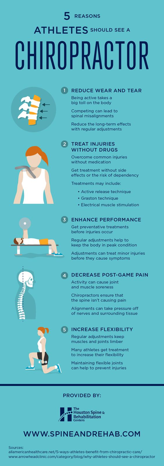 reasons athletes should see a chiropractor