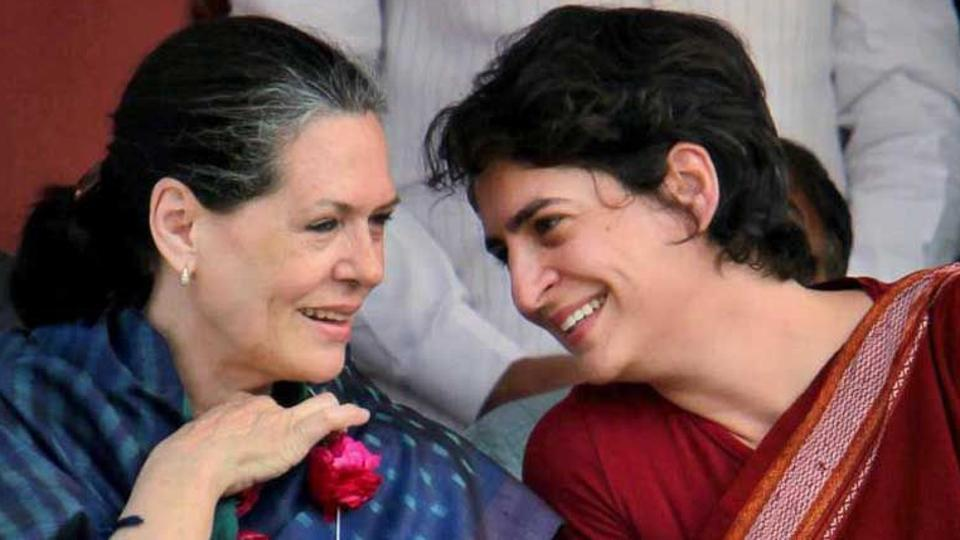 Sonia and Priyanka Gandhi