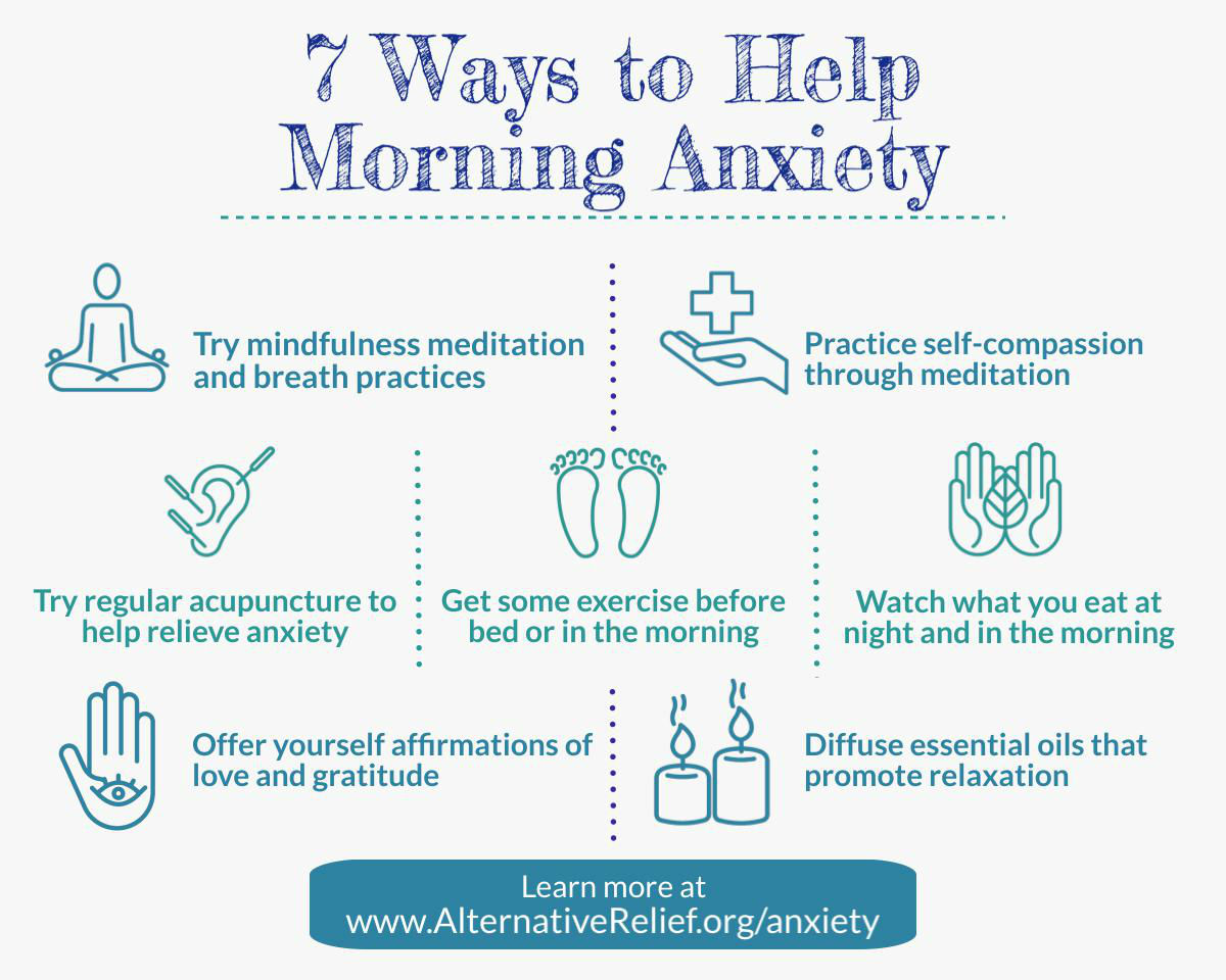 ways to help morning anxiety