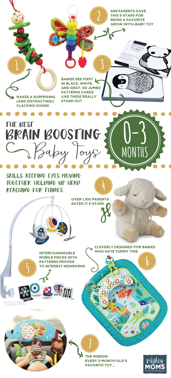 Brain boosting baby toys 0 to 3 months