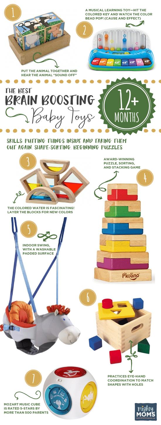 Brain boosting baby toys 12 plus months